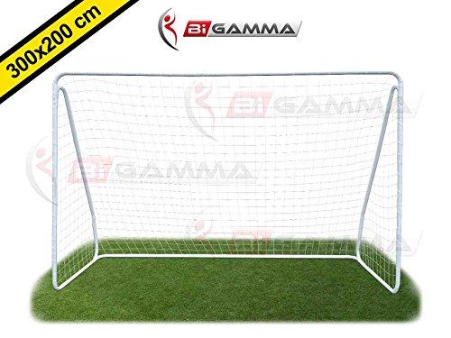 Porta da calcio regolamentare mod. super goal misure regolamentari 3 x 2 metri - bigamma