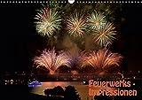 Feuerwerks - Impressionen (Wandkalender 2019 DIN A3 quer): Feuerwerks - Impressionen des Kölner Feuerwerks, Rheinkirmes, Ruhrort in Flammen. ... (Monatskalender, 14 Seiten ) (CALVENDO Kunst)