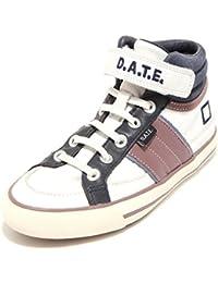 9184F sneaker blu verde grigio D.A.T.E. TENDER JUNIOR 2 WAX scarpa bimbo bimba s [33] 5mPmD