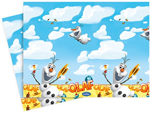 ozen Tischdecke mit Sommer Olaf, 1,8 m x 1,2 m (Frozen Olaf Party Supplies)