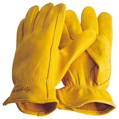 Premium Hirschleder Handschuhe Reithandschuhe Western Cowboy (XL = 11)