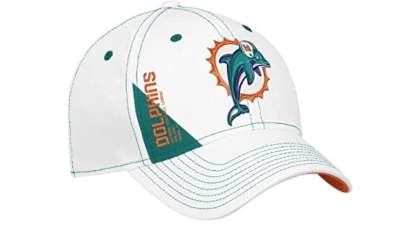de585bd39a7 Miami Dolphins Reebok NFL 2010 Player Draft Hat  Amazon.co.uk  Sports    Outdoors