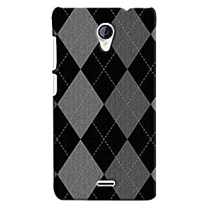 ColourCrust Micromax Unite 2 A106 Mobile Phone Back Cover With Argyle Pattern Style - Durable Matte Finish Hard Plastic Slim Case
