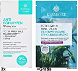 3x250ml Dermasel Anti Schuppen Shampoo +Gratis Erholungs-Maske