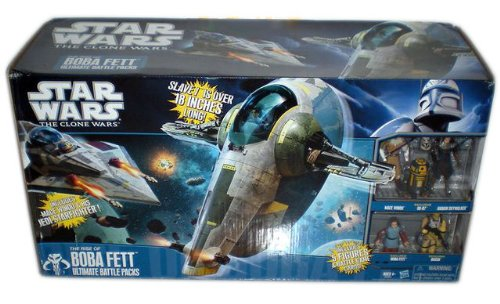 Hasbro SW20850 - Ultimate Battle Pack 2010 - The Rise of Boba Fett (Clone ()