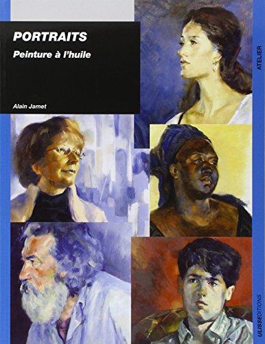 Portraits : Peinture à l'huile par Alain Jamet