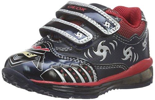 Geox B Todo C, Chaussures Marche Bébé Garçon Blau (NAVY/REDC0735)