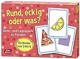 Rund, eckig oder was?: Denk- und Legespiele zu Formen für Kinder von 3 bis 6 (Denk- und Legespiele für Kinder)
