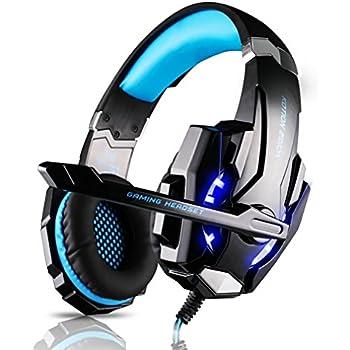 casque gamer leshp micro casque ps4 gaming audio st r o basse avec led lampe luminosit bien. Black Bedroom Furniture Sets. Home Design Ideas