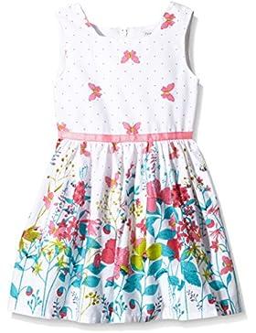 Happy Girls Mädchen Kleid Mit Blumen-schmetterling Print
