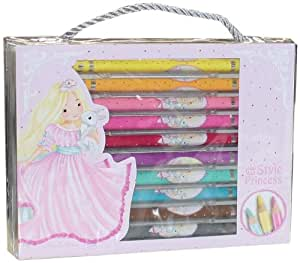 Depesche 8269 - Buntstifte, My Style Princess, 10-er Pack