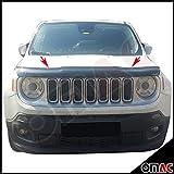 Deflettore per cofano SUV Jeep Renegade 2014, protegge da insetti e residui di pietrisco