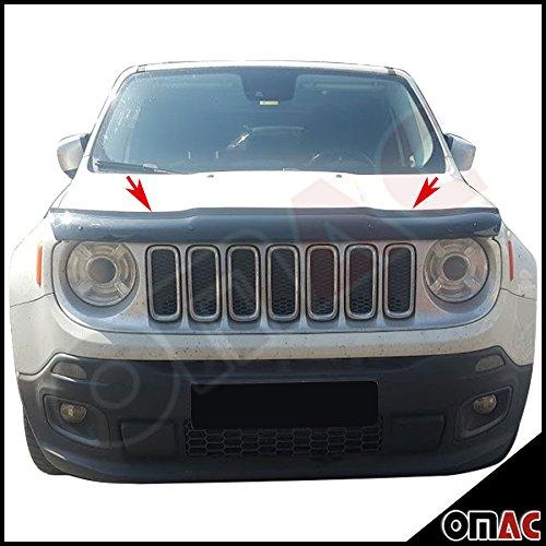OMAC Jeep Renegade 2014- SUV Motorhaube Deflektor Insekten und Steinschlagschutz