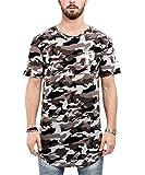 Phoenix Allstar Oversize T-Shirt Camo Midnight Herren Longshirt Camouflage - XL