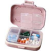 Pille-Kasten / Kasten-tragbarer Reisemedizin-Organisator für Medikation und Vitamin, großes Fach #44 preisvergleich bei billige-tabletten.eu