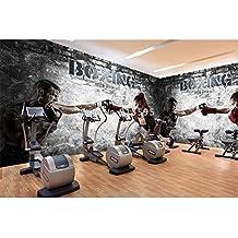 Papel Pintado Mural Mural Fotopersonalizado Cualquier Tamaño Mural Wallpaper 3D Abstracto Boxeo Gimnasio Belleza Chico Wallpaper