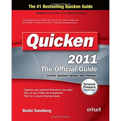Quicken 2011 Official Guide (The Official Guide) by Bobbi Sandberg (2010-11-12)