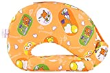 #2: MomToBe Animal Print Orange Feeding Pillow with front pocket - HD Foam 100% Cotton Fabric