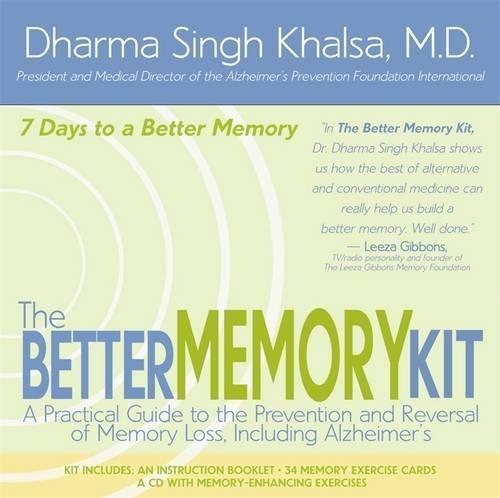 The Better Memory Kit by Dharma Singh Khalsa (2004-10-01)
