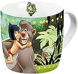 Disney Dschungelbuch 12993 Mogli+Balu Tasse, Porzellantasse, Kaffeetasse, Kindertasse, Mehrfarbig