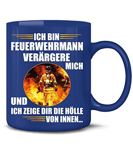 erwehrmann Tasse Becher Freiwillige & Berufs Feuerwehr Geschenk Ideen Kaffee Artikel Zubehör Jugend Geburtstags Pott Spruch Frau Mug ()