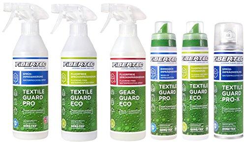 Doppelpack Fibertec Imprägniermittel (2 x Textile Guard Pro 250 ml)