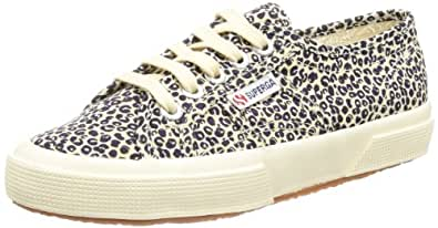 Superga 2750 Spotted, Unisex Adults' Low-Top Sneakers, Beige (975), 7 UK (41 EU)