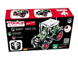 Metal Construction Model Kit, FENDT VARIO 313, 2 CHANNEL RADIO CONTROL, Tractor, 574 parts, Tronico© Germany, including tools, metal mechanical construction, kids metal kits, metal mechanics kits