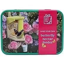Gift in a Tin Regalo en una lata para hacer tu propio alimentador de mariposas