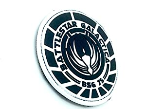 Battlestar Galactica BSG 75 Officer PVC Airsoft Velcro Patch