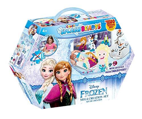Craze 58436 - Splash Beadys, Frozen, Creation Set - Kunstwerk Aufhänger Kinder