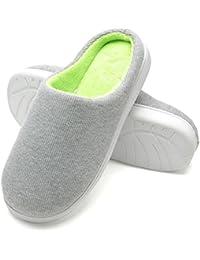 Pantofole da casa per Uomo, Ultra-Leggero Confortevole e Antiscivolo, Ciabatte da Uomo per casa