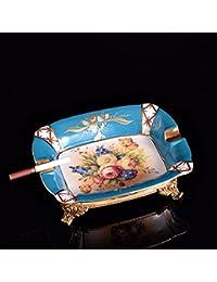 Upper Luxus Hochwertige Aschenbecher Wohnzimmer Tisch Mit Einlegearbeiten Aus Kupfer Schmuck Geschenk