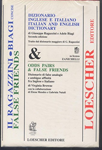 Dizionario inglese-italiano e italiano-inglese. Dizionario di false analogie e ambigue affinit fra inglese e italiano