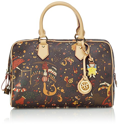 Piero Guidi Magic Circus Borsa a Mano, 31 cm, Testa di Moro