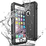 wasserdichte Hülle für iPhone se 5 5s, Update IP68 Schutzhülle mit Eingebautem Bildschirmschutz für iPhone SE, Haltbarkeit stoßfeste/regenfeste/schneefeste/Unterwassertasche für iPhone 5S 5 SE
