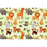 #8: ArtzFolio Cartoon Animals Art & Craft Gift Wrapping Paper 18 x 12inch;SET OF 10 PCS