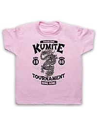 Bloodsport Kumite 1988 Black Dragon Tournament Camiseta para Niños
