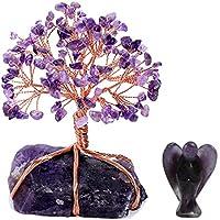 CrystalTears Edelstein Baum des Lebens Dekoration Wire Wrap Trommelsteine Lebensbaum +Fengshui Edelstein Kristall... preisvergleich bei billige-tabletten.eu