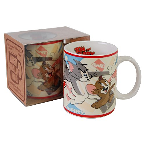 Tom and Jerry Mug, Official Hanna-Barbera Gift Boxed