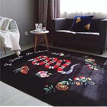 GRENSS Sello de moda de tendencia actual marea tigre alfombra alfombra serpiente arrastrándose pad salón dormitorio mat alfombra grande bebe clásico,la serpiente patrón