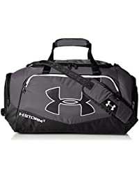 7f6feb4bfb0c Under Armour Undeniable II Polyester Graphite and Black Sports Duffel  (1263969-040)
