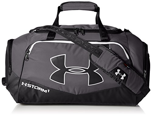 Under Armour UA Undeniable Multisport Travel Bag Luggage Holdall Duffel II grey Gph/Blk/Wht Size28 x 56 x 25 cm small (Sporttasche Armour Under Kleine)