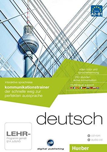interaktive sprachreise kommunikationstrainer deutsch: der schnelle weg zur perfekten aussprache /...