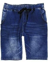 Herren Shorts in Übergröße von Lavecchia stone-washed mit Tunnelzug von ... e767829559
