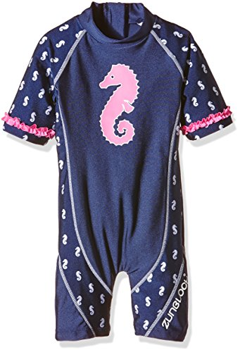 Zunblock Baby UV 50 plus Anzug Seahorse Navy, 74/80 - Plus Sunblock