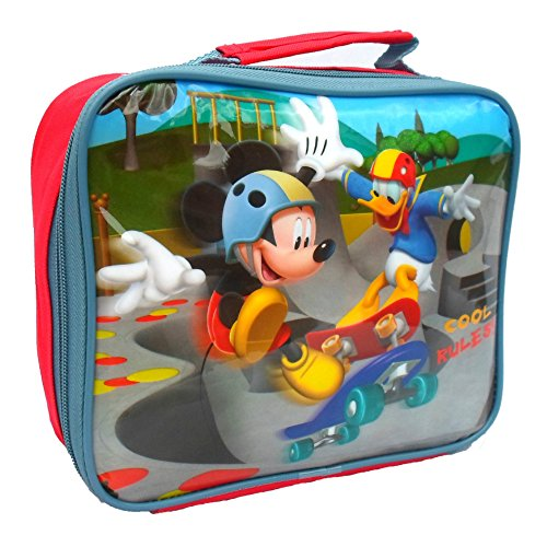Mickey Mouse und Donald Duck Rules Cool Lunch Bag, Multi, Farbe (Pluto Lunch-box)