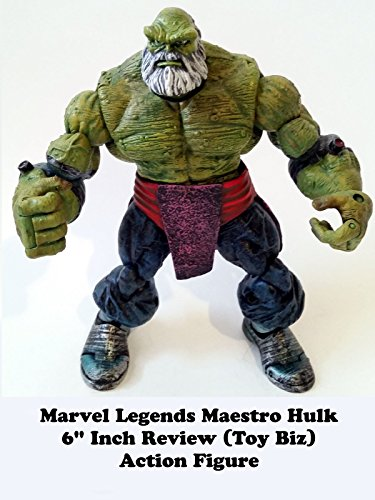"""Image of Review: Marvel Legends Maestro Hulk 6"""" Inch Review (Toy Biz) Action Figure"""
