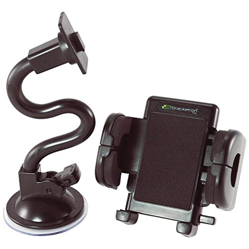 Bracketron Inc Bracketron Mobile Grip-iT Windshield Mount Kit (Mobile Bracketron Grip)