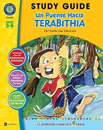 Guía de Estudio - Un Puente Hacia Terabithia (Bridge to Terabithia Novel Study - Spanish Version) (Spanish Edition)